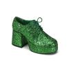 JAZZ-02G Green Glitter
